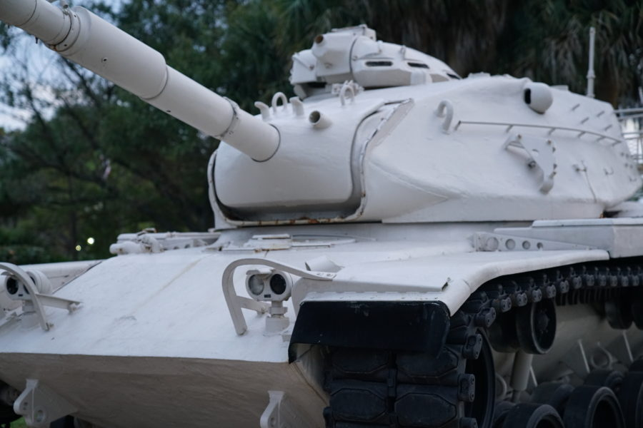 Urban WarFare: A Tank On The SideWalk
