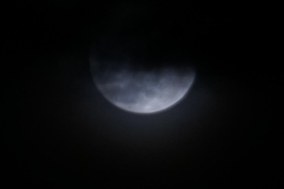 The Art of Clouds in a Lunar Heaven 4-14-2017